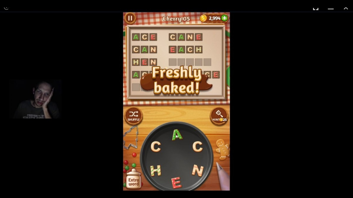 Word Cookies, Talented Chef, Cherry Updated Level 5 Solved