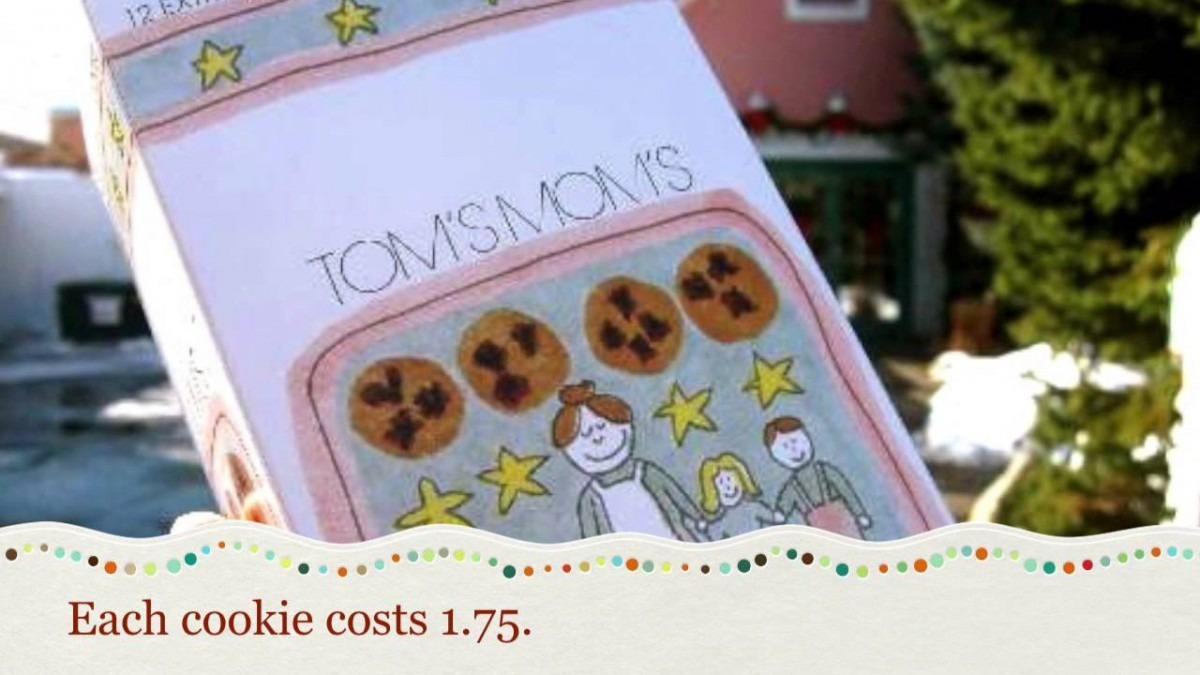 Tom's Mom's Cookies