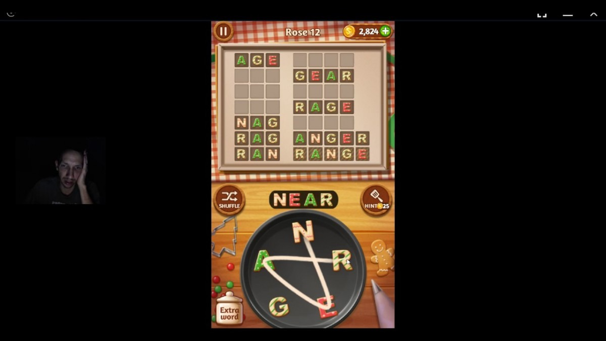 Word Cookies, Talented Chef, Rose Updated Level 12 Solved