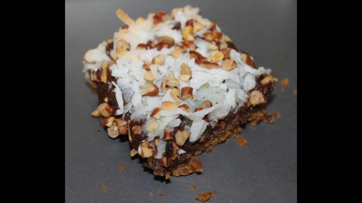 Making Magic Cookie Bars