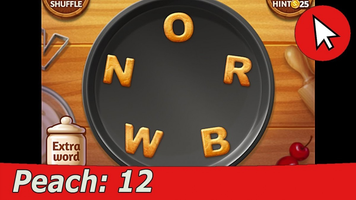 Word Cookies Peach 12 Answers Guide