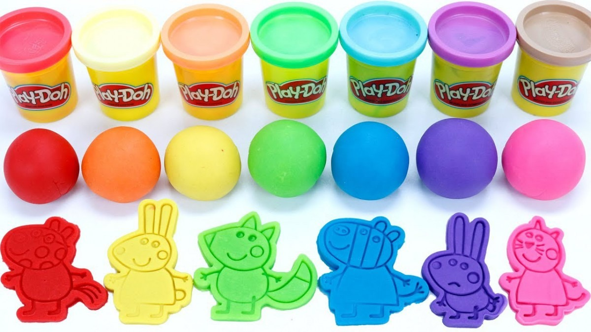 Ppa Pig Friend Cookie Cutter Molds Play Doh Ball