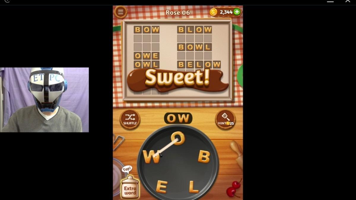 Word Cookies Rose 6 Solved