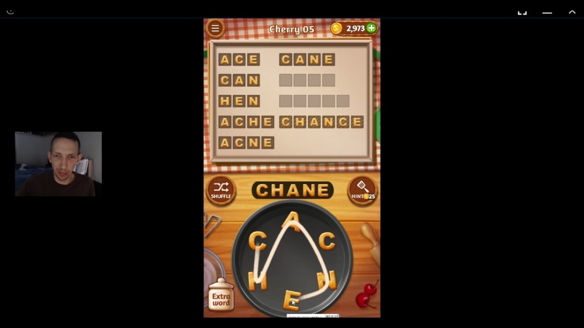 Word Cookies, Talented Chef, Cherry (updated) Level 5 Solved