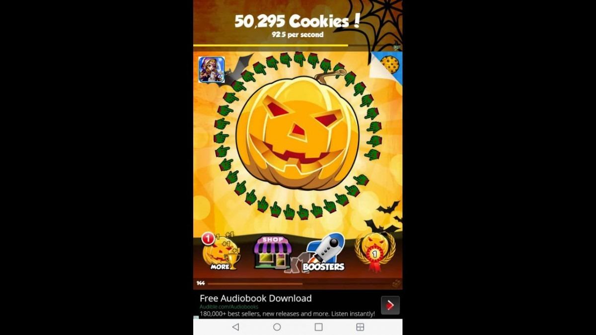 Cookie Clicker (halloween Updadte)