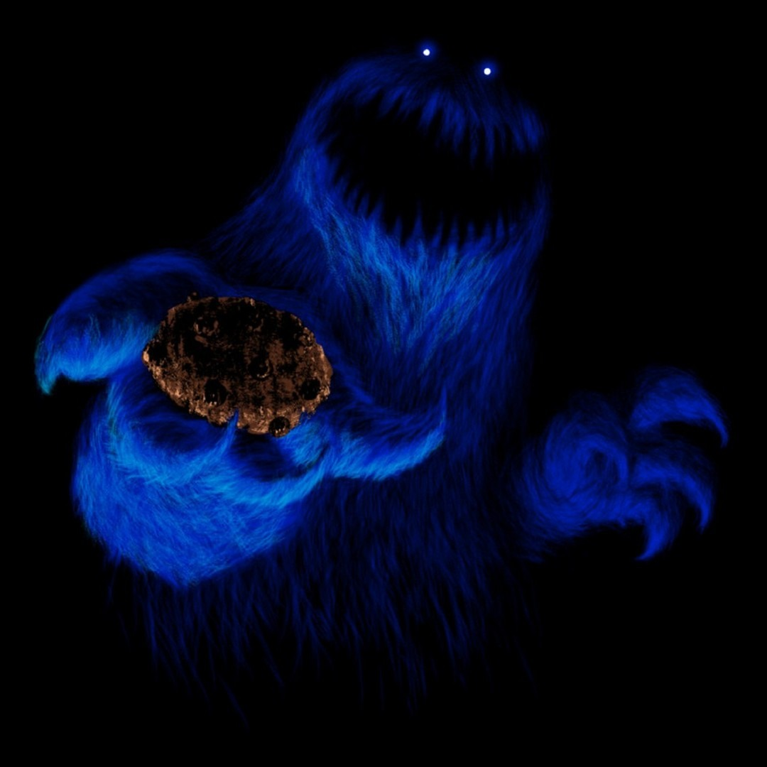Evil Cookie Monster!   Pics