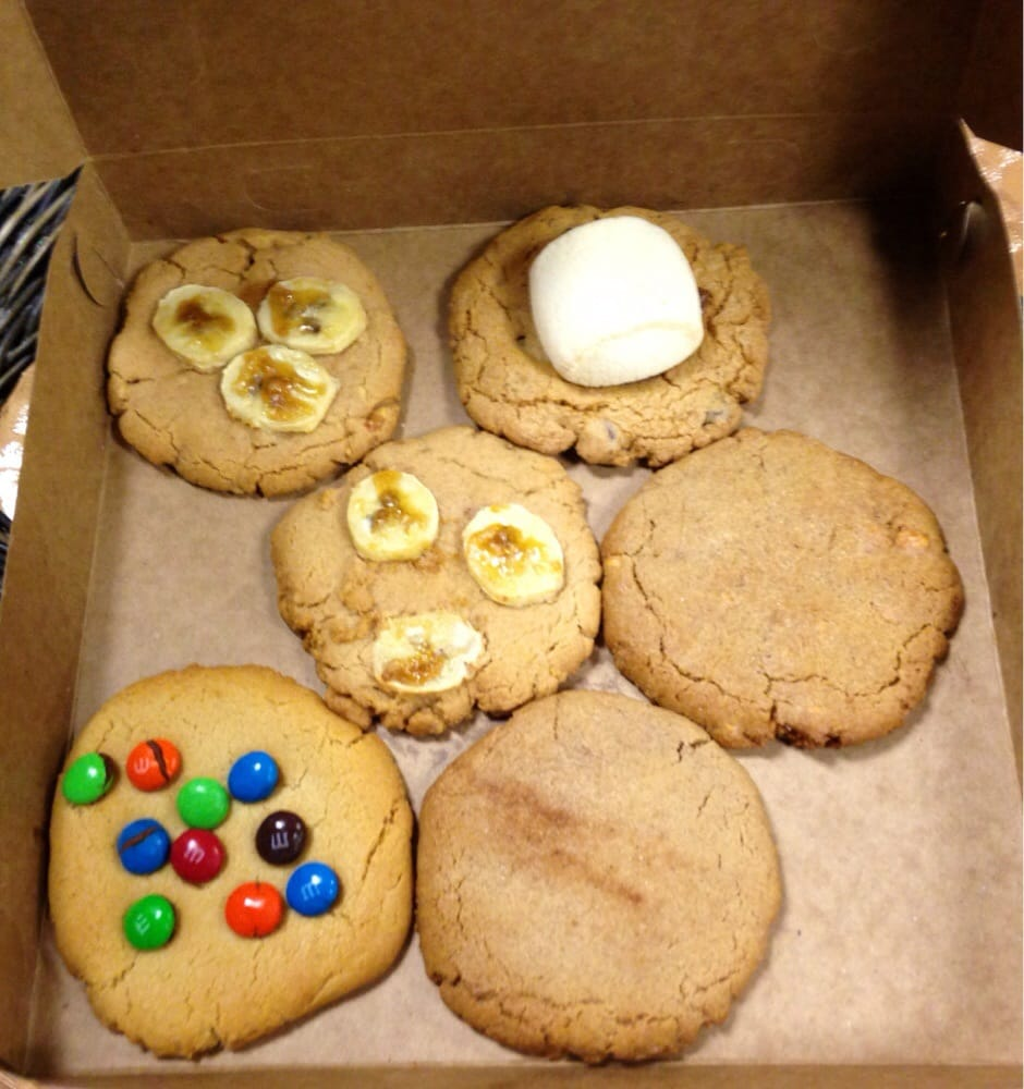 From Front To Back)  Sugar Cookie W  M&m's, Snickerdoodle, Pumpkin