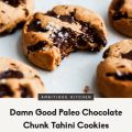 Paleo Chocolate Chip Cookies Almond Flour