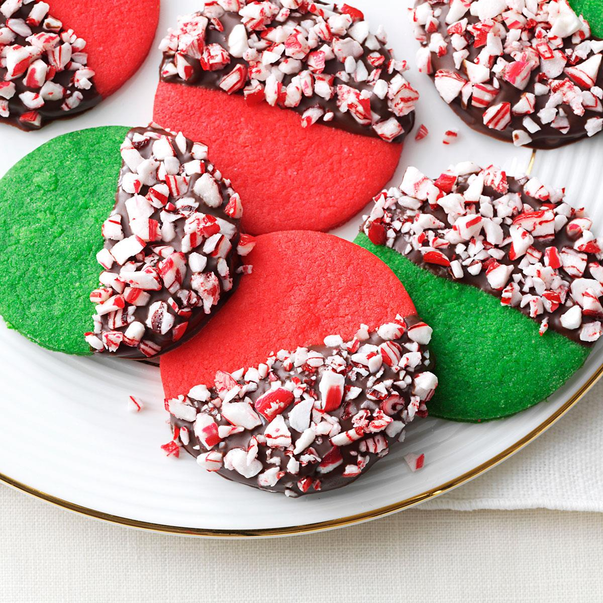 Peppermint Crunch Christmas Cookies Recipe
