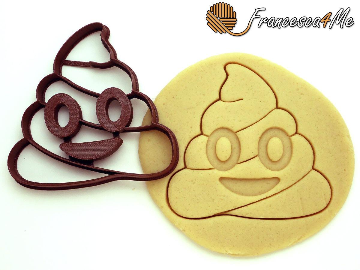 This Poop Emoji Cookie Cutter Makes Poop Cookies