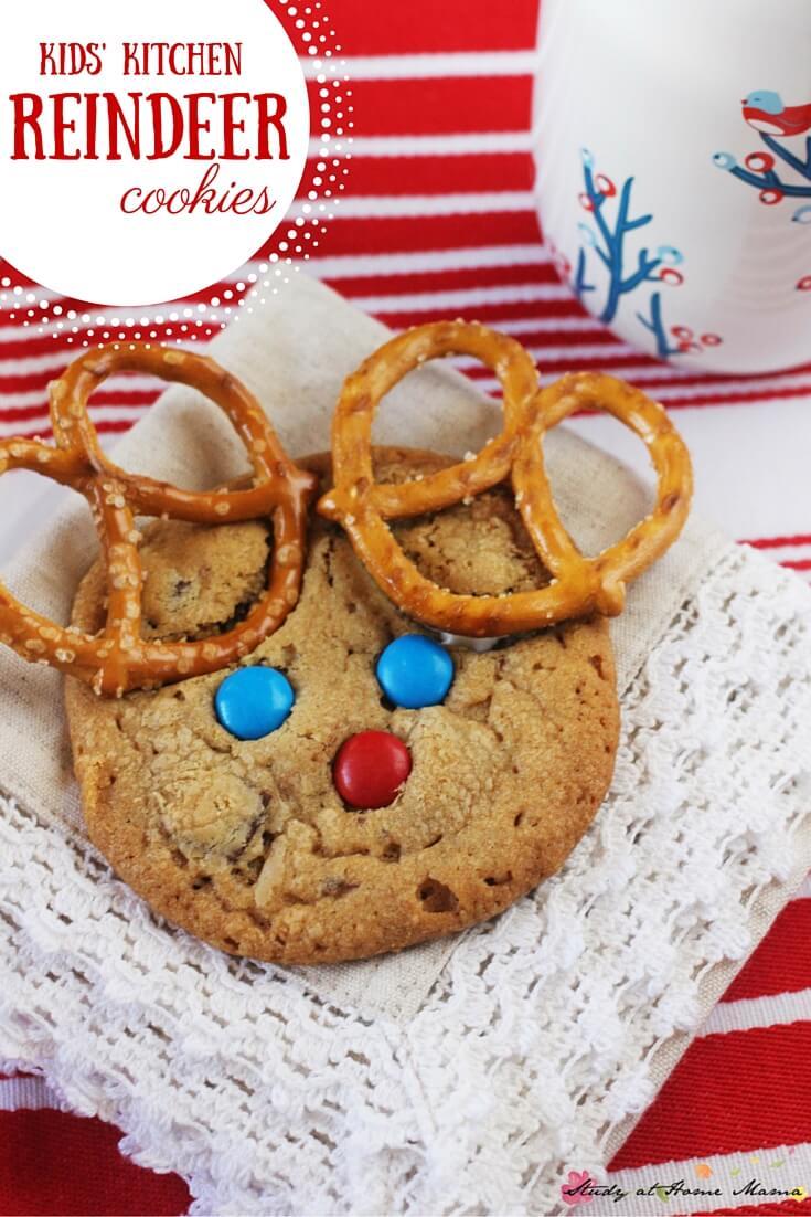 Kids' Kitchen  Reindeer Cookies ⋆ Sugar, Spice And Glitter
