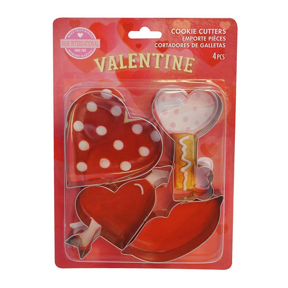 Valentine Cookie Cutter Set