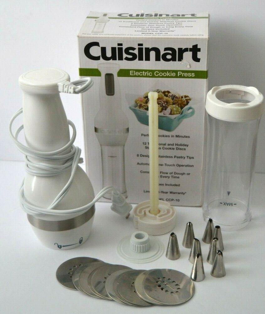 Cuisinart Electric Cookie Press Ccp