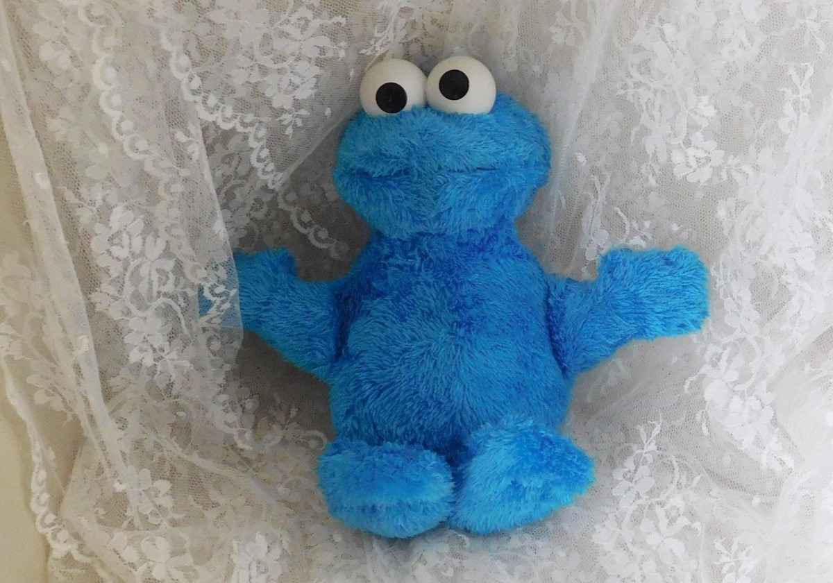 Sesame Street 11  Talking Cookie Monster And 50 Similar Items
