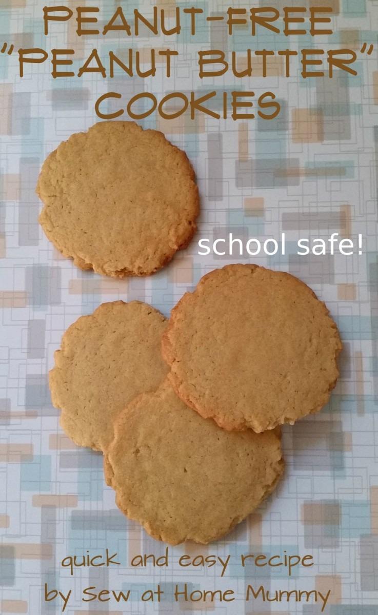 Sew At Home Mummy  (peanut Free) School Safe  Peanut Butter