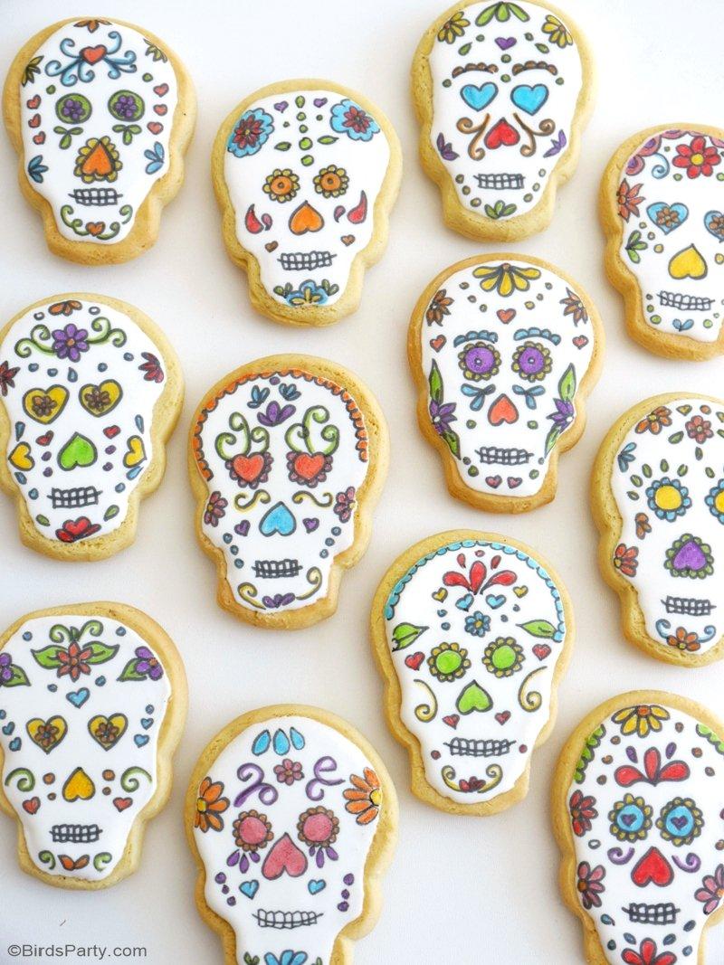 Sugar Skull Cookies Recipe