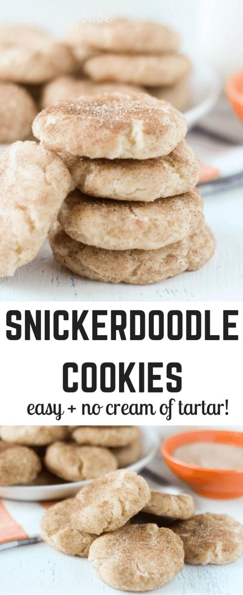 Grandma's Snickerdoodle Cookies No Cream Of Tartar