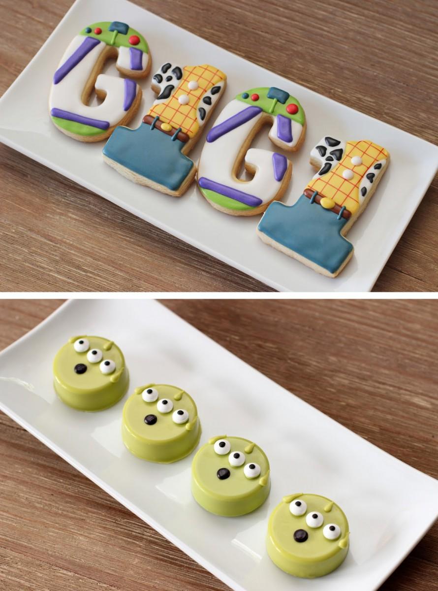 The Sugar Bee Bungalow  {sugar Bee} Toy Story Cookies