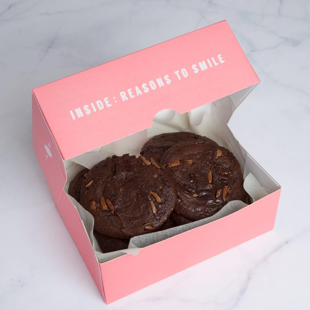 Triple Chocolate Cookies (box Of 6)
