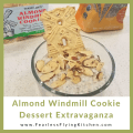 Almond Windmill Cookies