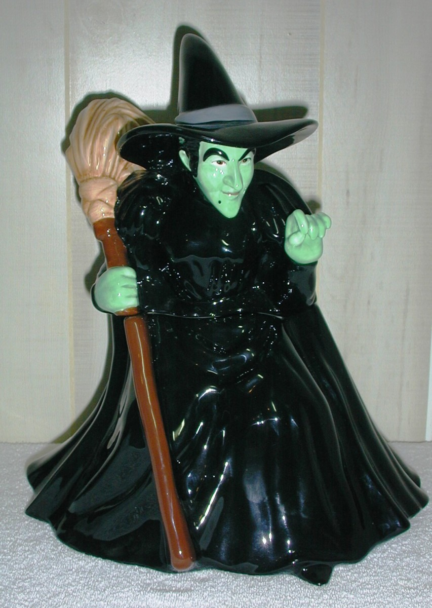 Wizard Of Oz Wicked Witch By Warner Brothers Collector Cookie Jar