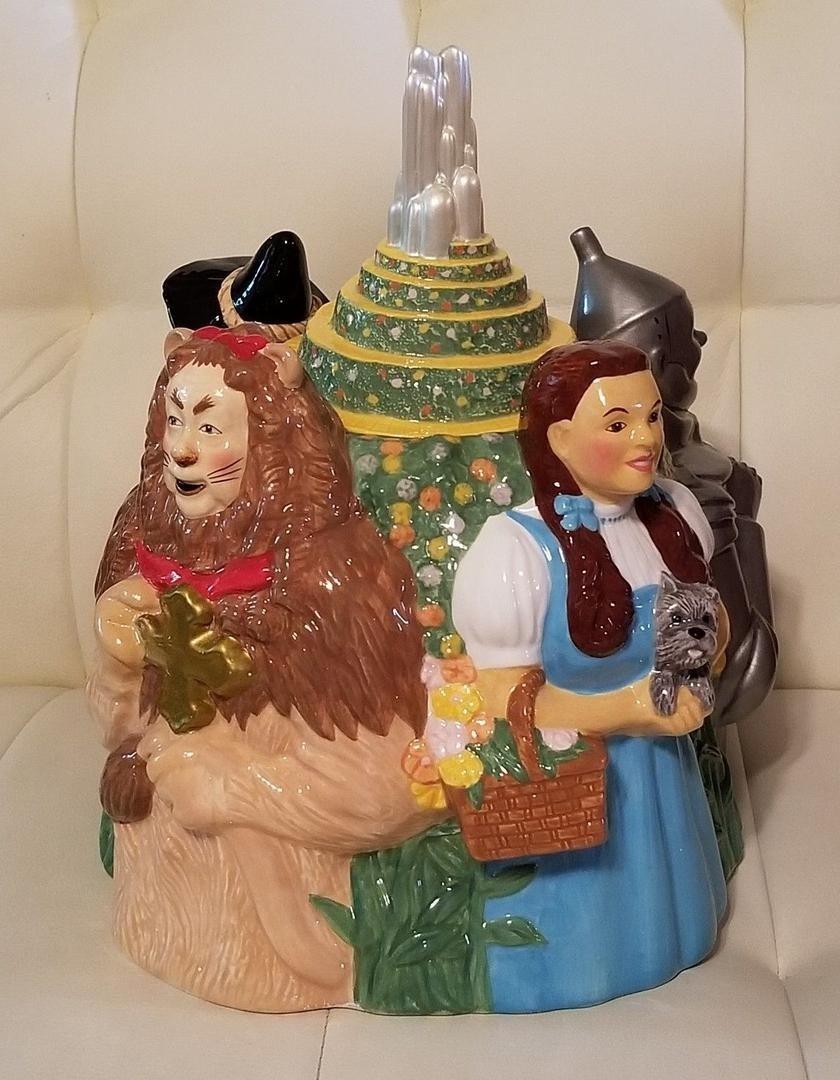 Wizard Of Oz Cookie Jar Nib New Rare Design Collectible Warner